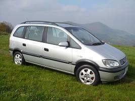 Opel Zafira 2,0 TDI siedmio-osobowy