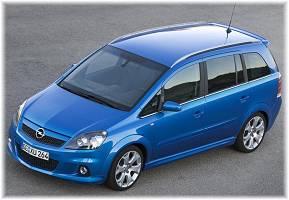 Opel Zafira 1,7 TDCI     siedmio-osobowy