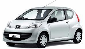 Peugeot 107 benz. 1,0