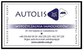 autolis promocja karta